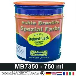 BRANTH's ROBUST LACK Metallschutzlack MB / DB 7350 Novagrau 750 ml