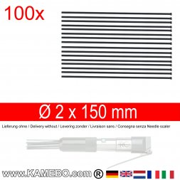 Nadeln für Nadelentroster 2x150 mm 100 Stück