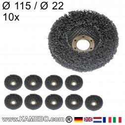 Nylon Siliziumkarbid Schleifscheibe Ø 115 mm 10 Stück