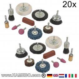 Schleif und Polier Kit 20 Teile