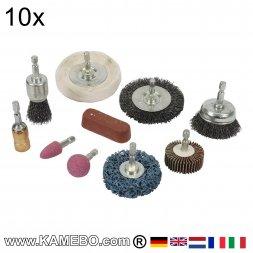 Schleif und Polier Kit 10 Teile
