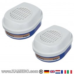 Dräger Combination Filters 620 A2-P3 R D with Bayonet