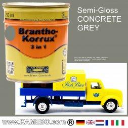 Chassislack Drei-in-Eins Mittelgrau 750 ml