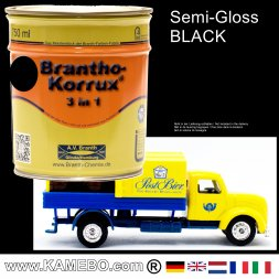 Chassis Paint Three-in-One Black 750 ml