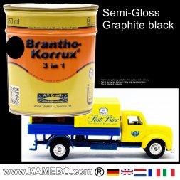 Chassislack Drei-in-Eins Graphitschwarz 750 ml