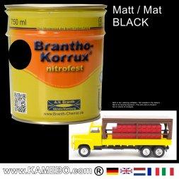 Chassislack Matt Schwarz 750 ml
