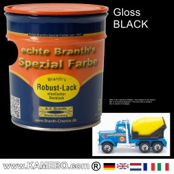 Gloss Chassis Paint Black 750 ml