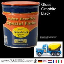 Chassislack Glänzend Graphitschwarz 750 ml
