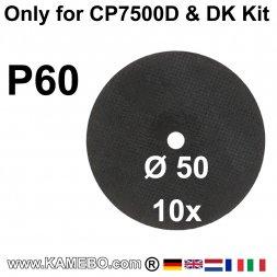 Trennscheiben für Mini-Trennschleifer CP7500D K60 10 Stück