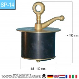 Teryair Bouchon de tuyau SP-14 85-110 mm