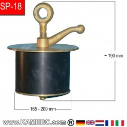 Teryair Rohrstopfen SP-18 165-200 mm