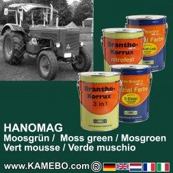 Rostschutzfarbe Hanomag Traktor Moosgrün