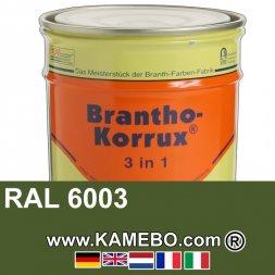 3in1 Militärlack Seidenglänzend RAL 6003 Olivgrün 20 Liter