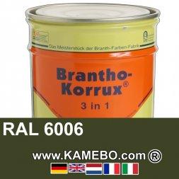 3in1 Militärlack Seidenglänzend RAL 6006 Feldgrau Nr. 3 Grauoliv 20 Liter
