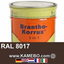 3in1 Militärlack Seidenglänzend RAL 8017 Rotbraun Nr. 19 / Schokoladenbraun 20 Liter