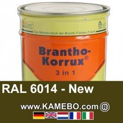 3in1 Militärlack Seidenglänzend RAL 6014 Gelboliv / NATO Oliv 20 Liter