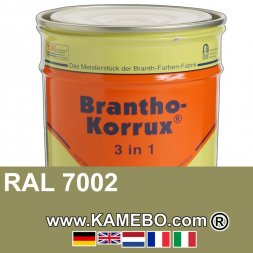 3in1 Militärlack Seidenglänzend RAL 7002 Olivgrau 20 Liter