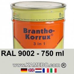 3in1 Militärlack Seidenglänzend RAL 9002 Grauweiß 750 ml