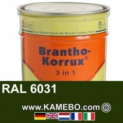 3in1 Militärlack Seidenglänzend RAL 6031 Bronzegrün 20 Liter