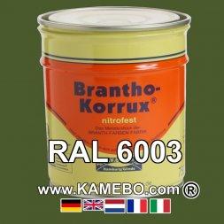 Militärlack Matt RAL 6003 Olivgrün 25 Liter