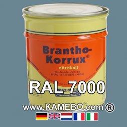 Militärlack Matt RAL 7000 Fehgrau 25 Liter