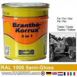 3in1 Traktor Lack Seidenglänzend RAL 1006 Maisgelb 750 ml