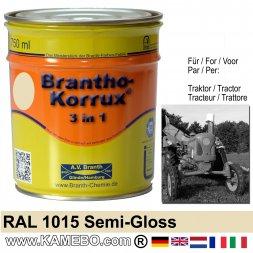 3in1 Traktor Lack Seidenglänzend RAL 1015 Hellelfenbein 750 ml