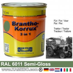 3in1 Traktor Lack Seidenglänzend RAL 6011 Resedagrün / Lindgrün 750 ml