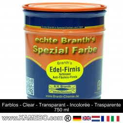BRANTH's EDEL FIRNIS 750 ml