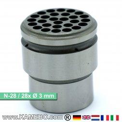 Nadelplatte 3 mm für TERYAIR Nadelentroster N-28