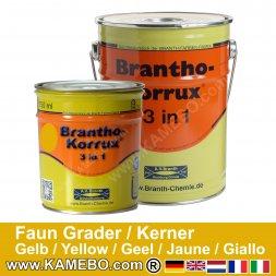Rostschutzfarbe Faun Grader und Kerner Landmaschinen Gelb