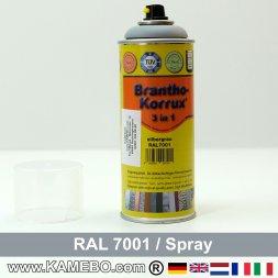 BRANTHO-KORRUX 3in1 Rostschutzlack RAL 7001 Spray Silbergrau 400 ml