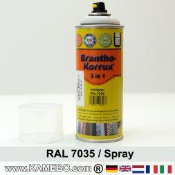 BRANTHO-KORRUX 3in1 Rostschutzlack RAL 7035 Spray Lichtgrau 400 ml
