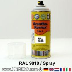 BRANTHO-KORRUX 3in1 Rostschutzlack RAL 9010 Spray Weiss 400 ml
