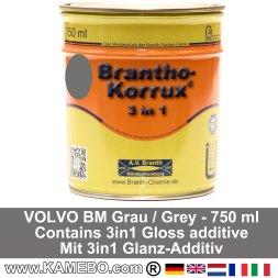 BRANTHO-KORRUX 3in1 Rostschutzlack Volvo BM Grau 750 ml