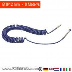 RODCRAFT Spiralschlauch PU 851102 8 Meter
