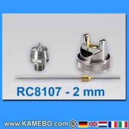 Düsensatz für RODCRAFT Lackierpistole RC8107 2 mm