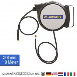 RODCRAFT Druckluft Schlauchtrommel Schlauchaufroller SAR21