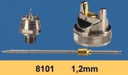 Düsensatz für RODCRAFT Lackierpistole RC8101 1,2 mm