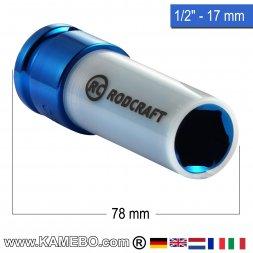 RODCRAFT Stecknuss R417MD 1/2 78 mm lang