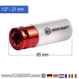 RODCRAFT Stecknuss R421MWP 1/2 85 mm lang