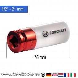 RODCRAFT Stecknuss R421MD 1/2 78 mm lang