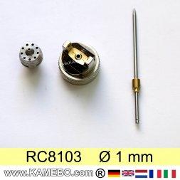 Düsensatz für RODCRAFT Lackierpistole RC8103 1 mm
