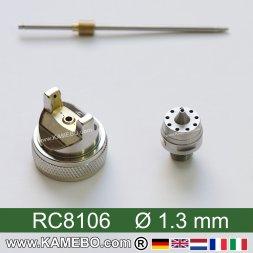 Düsensatz für RODCRAFT Lackierpistole RC8106 1,3 mm