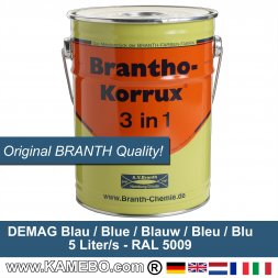BRANTHO-KORRUX 3in1 Anti-Rust Coating Demag Blue 5 Litres