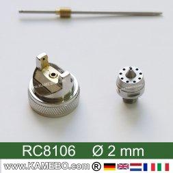 Düsensatz für RODCRAFT Lackierpistole RC8106 2 mm