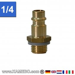 Raccord à air comprimé Euro Plug nipple AM028 1/4