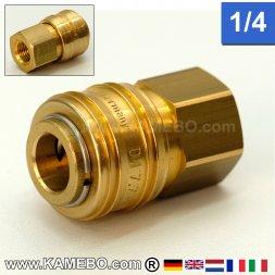 Druckluft Euro Schnellkupplung AM004 1/4