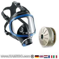 Dräger X-plore® 6300 Full-Face Mask with 1 Filter