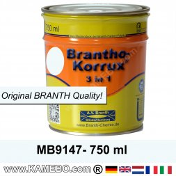 BRANTHO-KORRUX 3in1 Vernice Antiruggine Bianco artico per Mercedes-Benz MB9147 750 ml
